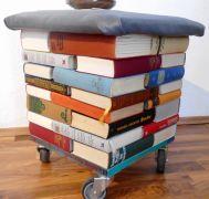 Bücherhocker