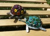 Keramikschildkröte