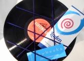 Schallplatten-Pinnwand