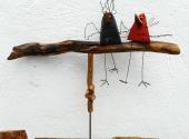 Zwei Vögel